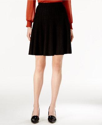 Grace Elements A-Line Sweater Skirt $70 thestylecure.com