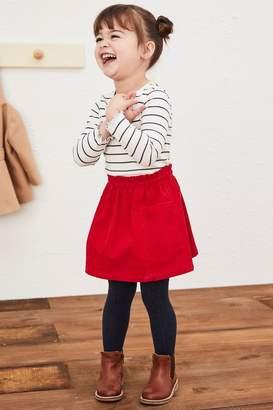 Next Girls Red Cord Skirt (3mths-7yrs) - Red