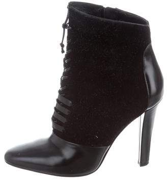 3.1 Phillip Lim Suede Ankle Boots