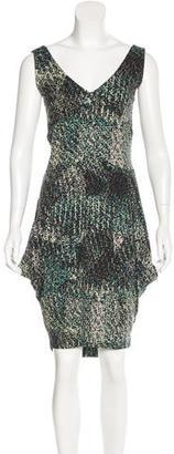 Twin.Set Pixel Print Midi Dress $80 thestylecure.com