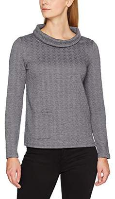 Taifun Women's Urban Spirit Regular Fit Long Sleeve T-Shirt, (Manufacturer Size: 38)