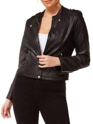 Dex Coated Biker Jacket