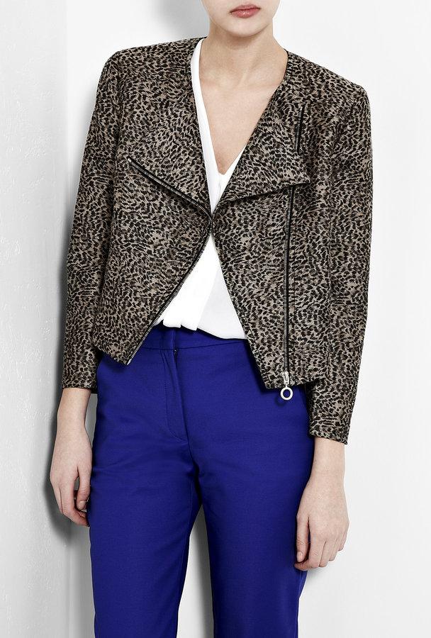 MW Matthew Williamson Leopard Brocade Jacket