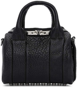 Alexander Wang Black Pebbled Mini Rockie Bag
