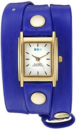 La Mer 002 Special Edition Gold-Tone Watch With Synthetic Leather Bracelet