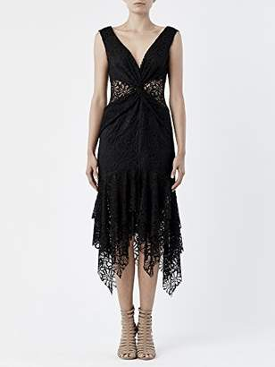 Nicole Miller Women's Summer Lace Dress with Front Twist