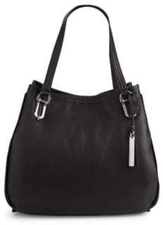 Vince Camuto Textured Leather Tote