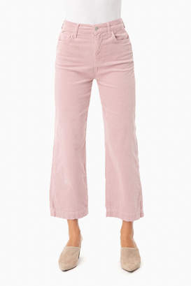 7 For All Mankind The Dusty Rose Cropped Alexa Corduroys
