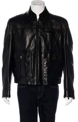 Zilli Cento Lambskin Silk-Lined Jacket