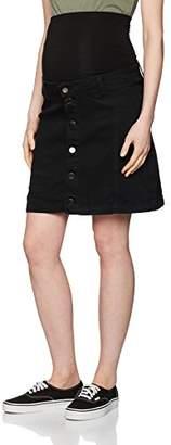 Dorothy Perkins Maternity Women's Denim Button Skirt
