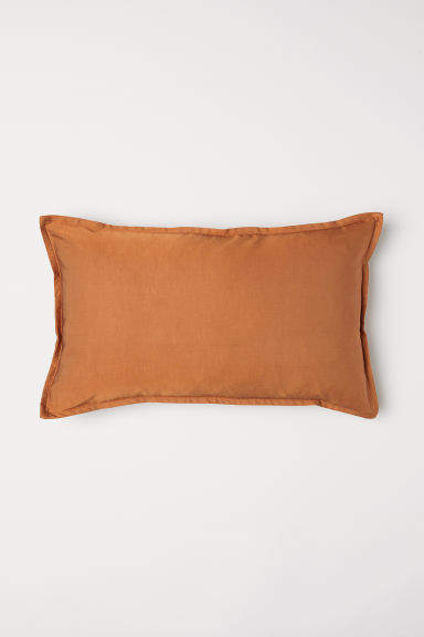 H&M - Solid-color Cushion Cover - Orange
