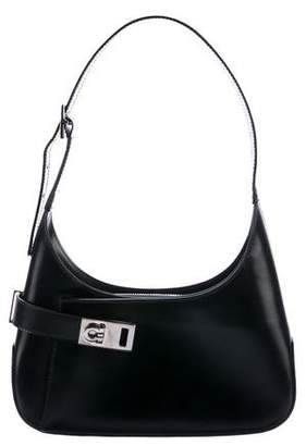 Salvatore Ferragamo Leather Gancini Shoulder Bag