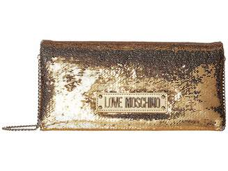 Love Moschino Sequin Evening Bag