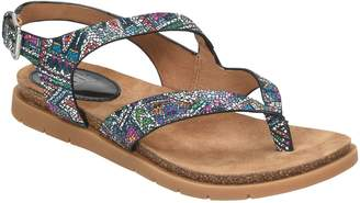 Sofft Leather Strappy Thong Sandals - Rory