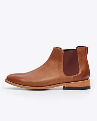Nisolo Chelsea Boot Saddle Brown