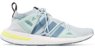 adidas Arkyn Rubber-trimmed Mesh Sneakers - Mint