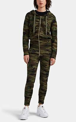 NSF Women's Stacie Camouflage Cotton Jumpsuit - Green
