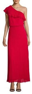 Xscape Evenings One-Shoulder Floor-Length Dress
