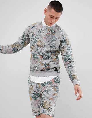 ONLY & SONS Sweatshirt With All Over Floral Print