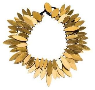 Viktoria Hayman Foil Three-Strand Necklace