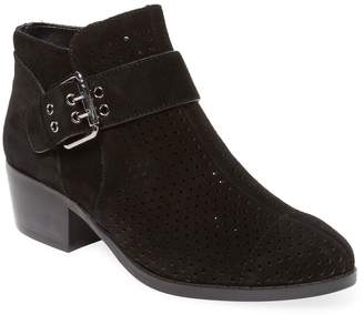 Karl Lagerfeld Paris Women's Amica Perforated Bootie