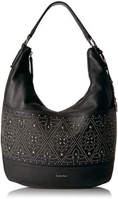 Calvin Klein Avery Pebble Stud Embellished Hobo Hobo Bag
