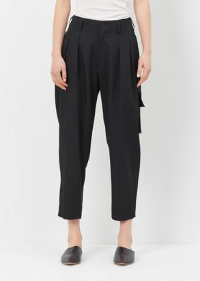 Yohji Yamamoto black out p suspender pant $1,120 thestylecure.com