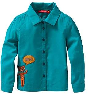 Oilily Girl's Blouse - Blue - 18-24 Months
