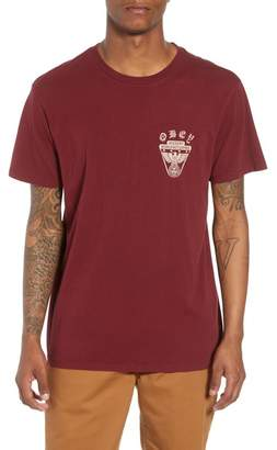 Obey Superior Eagle Shield Graphic T-Shirt