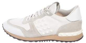 Valentino Rockrunner Studded Sneakers
