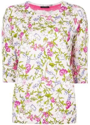 Twin-Set floral print jumper