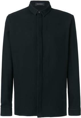 Kris Van Assche micro-textured shirt