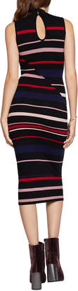 BCBGeneration Striped Bodycon Sweater Dress