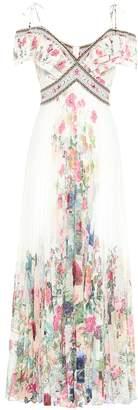 Camilla Floral crepe maxi dress