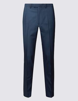 Marks and Spencer Indigo Modern Slim Fit Trousers