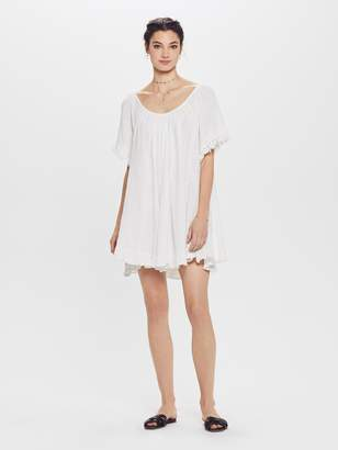 ba378339f2b Natalie Martin Marina Cotton Gauze Dress - White