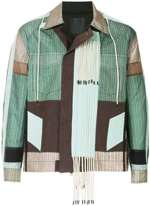 Craig Green colour block tassel jacket