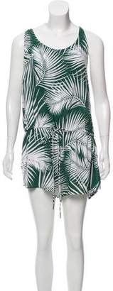 Mikoh Tropical Print Romper w/ Tags
