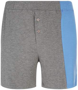 Homebody Contrast Panel Lounge Shorts