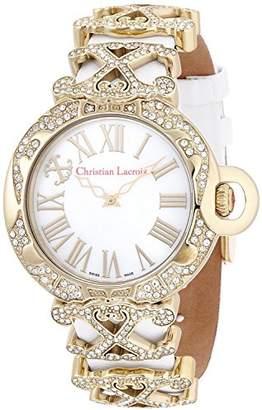 Christian Lacroix (クリスチャン ラクロワ) - [クリスチャン・ラクロア]CHRISTIAN LACROIX 腕時計クォーツ C CLW8002422SM レディース 【正規輸入品】