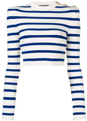 Balmain striped sweater