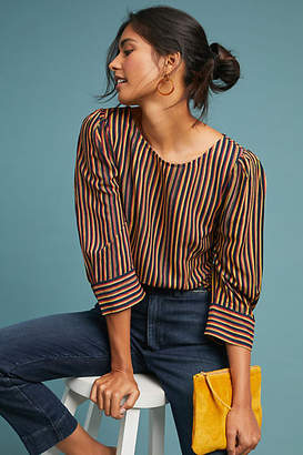 Meadow Rue Barton Striped Blouse