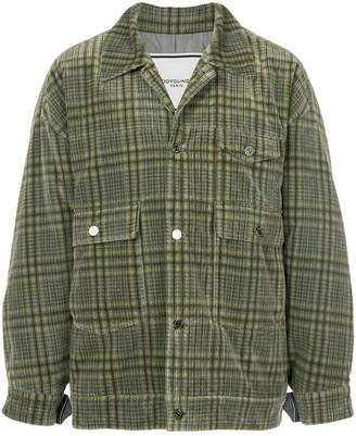 Wooyoungmi check shirt jacket
