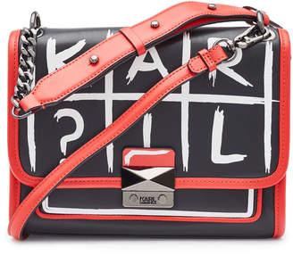 Karl Lagerfeld Paris K/Kuilted Tic Tac Toe Leather Handbag