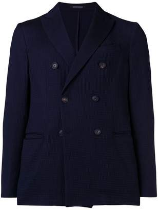 Emporio Armani double breasted blazer