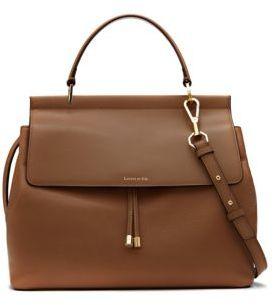 Louise et Cie Towa Leather Satchel $298 thestylecure.com