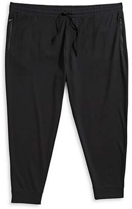 Black Brown 1826 Knit Pull-On Jogger Pants