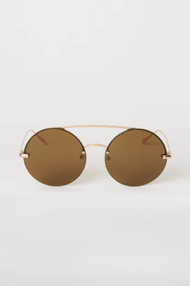 H&M Round Sunglasses - Gold