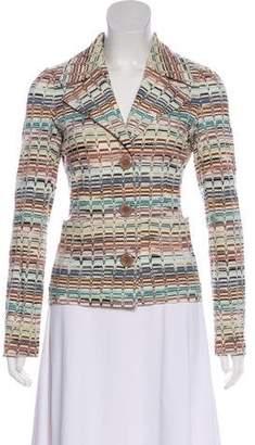 Missoni Wool-Blend Knit Blazer