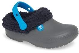 Crocs TM) Classic Blitzen III Faux Fur Clog